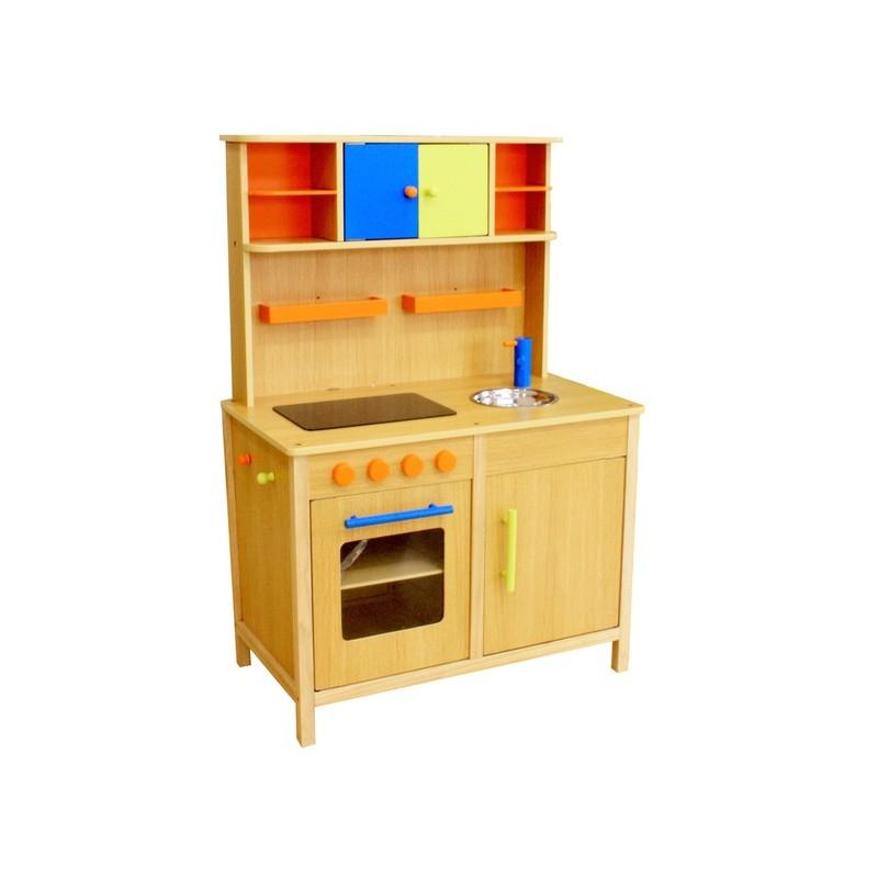 Kuchnia drewniana dla dzieci PEACH (W10C038)  Trampolinowo pl -> Kuchnia Dla Dzieci Najtaniej
