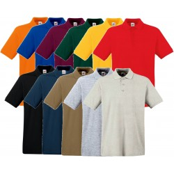 Koszulka Polo Fruit of the Loom PREMIUM POLO