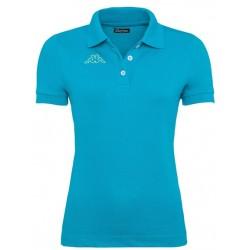 Koszulka Polo KAPPA LIFE Turquoise Green