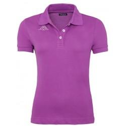 Koszulka Polo KAPPA LIFE Violet Grey