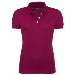 Koszulka Polo KAPPA LIFE  Purple Plum Fuchsia