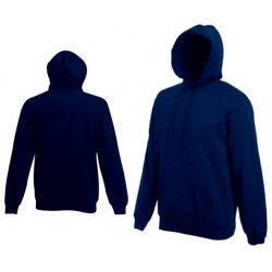 Bluza z kapturem Fruit of the Loom HOODED SWEAT Deep Navy