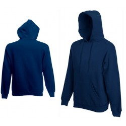 Bluza z kapturem Fruit of the Loom HOODED SWEAT Navy