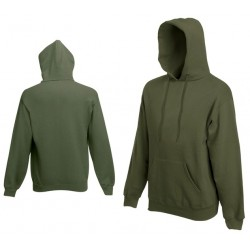 Bluza z kapturem Fruit of the Loom HOODED SWEAT Khaki