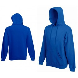 Bluza z kapturem Fruit of the Loom HOODED SWEAT Royal Blue