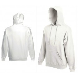 Bluza z kapturem Fruit of the Loom HOODED SWEAT White
