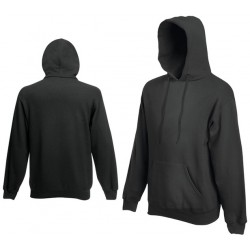 Bluza z kapturem Fruit of the Loom HOODED SWEAT Light Graphite