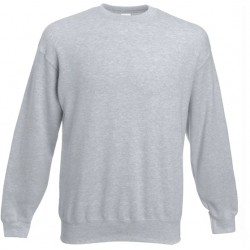 Bluza Fruit of the Loom SET-IN SWEAT Heather Grey
