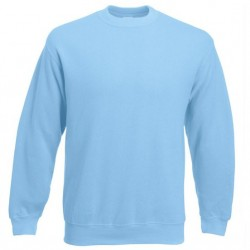 Bluza Fruit of the Loom SET-IN SWEAT Sky Blue
