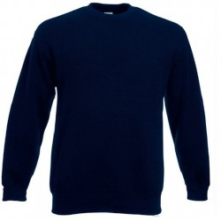 Bluza Fruit of the Loom SET-IN SWEAT Navy