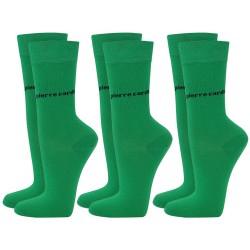 Skarpetki 3 x 2 PACK (6par) Pierre Cardin - 6 x green