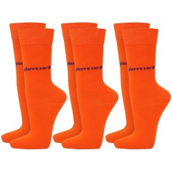 Skarpetki 3 x 2 PACK (6par) Pierre Cardin - 6 x orange