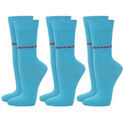 Skarpetki 3 x 2 PACK (6par) Pierre Cardin - 6 x turquoise