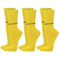 Skarpetki 3 x 2 PACK (6par) Pierre Cardin - 6 x yellow