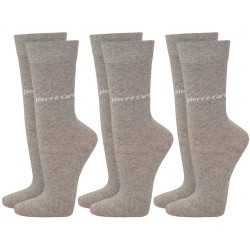 Skarpetki 3 x 2 PACK (6par) Pierre Cardin - 6 x light grey