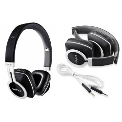 Słuchawki składane z redukcją hałasu Veho 360° Z8 Black