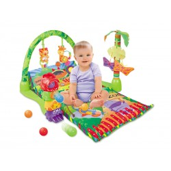 Interaktywna mata edukacyjna ZOO Baby Playmat
