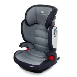 KinderKraft fotelik samochodowy Expander Grey - system ISOFIX