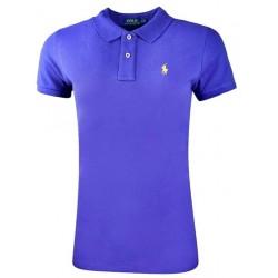 Koszulka Polo Ralph Lauren SKINNY-FIT Small Pony Sax