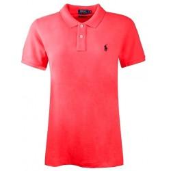Koszulka Polo Ralph Lauren SKINNY-FIT Orange
