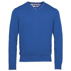 Sweter Tommy Hilfiger Svetr PIMA Blue