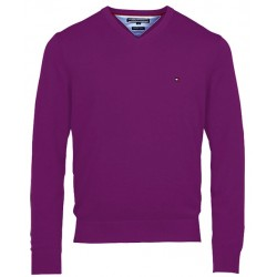 Sweter Tommy Hilfiger PREMIUM Lila