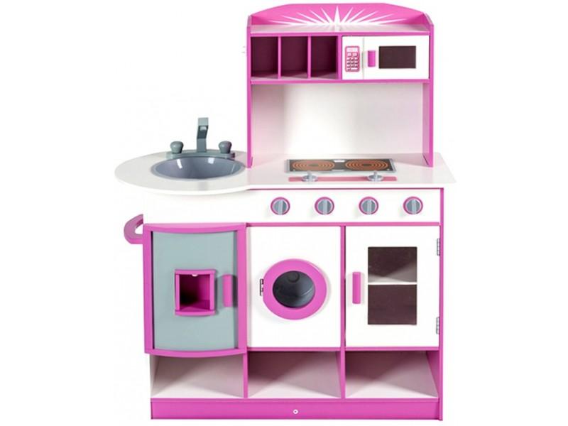 Kuchnia drewniana dla dzieci CAMILA (W10C075B   -> Kuchnia Dla Dzieci Wyprzedaż