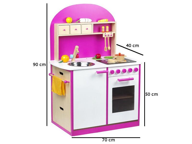 Kuchnia drewniana dla dzieci BELINDA (W10C065   -> Kuchnia Dla Dzieci Wyprzedaż
