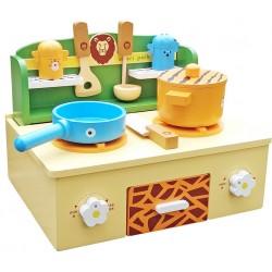 Kuchnia drewniana dla dzieci MARLYN (W10C184)
