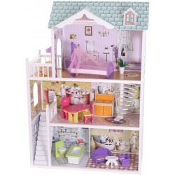 Domek dla lalek drewniany REZYDENCJA BEVERLY HILLS