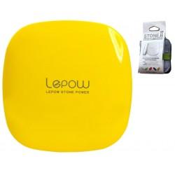 Bateria przenośna POWERBANK Moonstone LEPOW 6000 mAh - Yellow