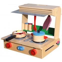 Kuchnia drewniana dla dzieci POLLY (W10C177)