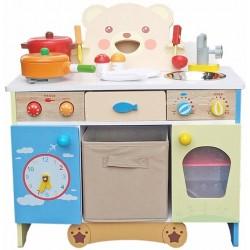 Kuchnia drewniana dla dzieci KATY (W10C146)