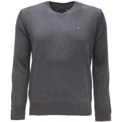 Sweter Tommy Hilfiger PIMA Dark Grey (093)