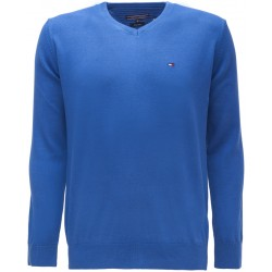 Sweter Tommy Hilfiger PIMA Royal Blue (420)