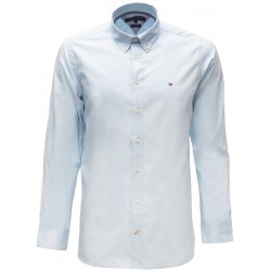 Koszula z długim rękawem Tommy Hilfiger - Stretch Light Blue
