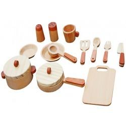 Zestaw kuchenny drewniany - W10B127