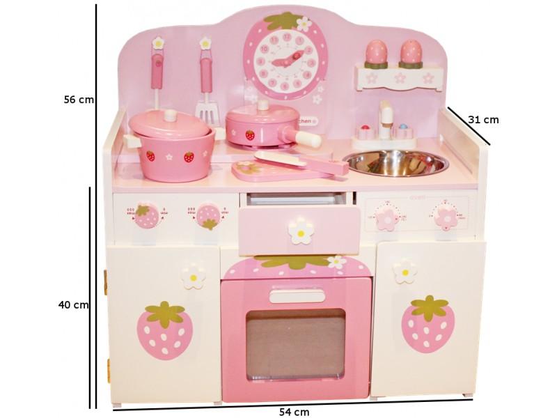 Kuchnia drewniana dla dzieci ISABELA (W10C148   -> Kuchnia Dla Dzieci Najtaniej