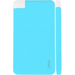 Bateria przenośna PowerBank HOOX Pure Love 4000 mAh - Blue