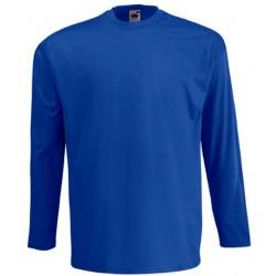 Koszulka Fruit of the Loom VALUEWEIGHT LONG SLEEVE - Royal Blue