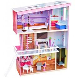 Domek dla lalek drewniany TRACY