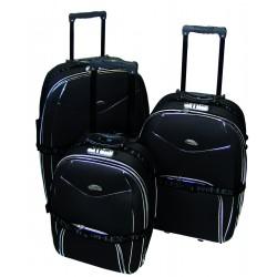 Komplet 3 walizek podróżnych LEX Travel ULTRALEKKIE - Gold (MC3048)