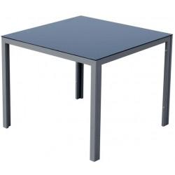 Szklany aluminiowy stół ogrodowy KORFU 2017 - MC330861