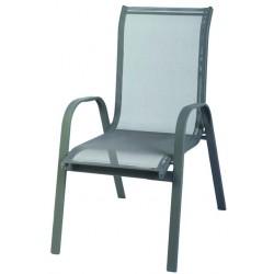 Krzesło ogrodowe ALU STAPEL MC MC330867 - grey