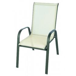 Krzesło ogrodowe ALU STAPEL MC MC330868 - beige