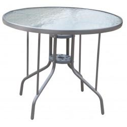Szklany stół ogrodowy DIA