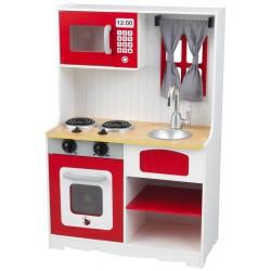 Kuchnia drewniana dla dzieci KidKraft RED VINTAGE (53299)