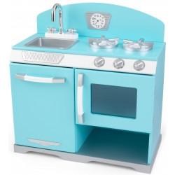 Kuchnia drewniana dla dzieci KidKraft RED VINTAGE (53252)