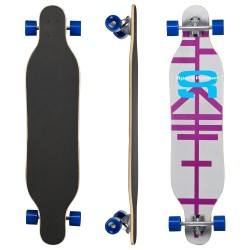 "Clamaro Longboard 43""  Skateboard Streetsurfer Cruiserboard ABEC-7 L-05"