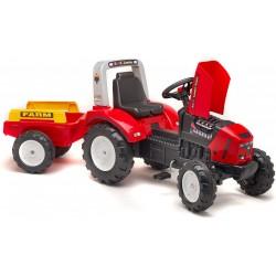 Traktor na pedały z przyeczepką FALK Farm Lander - red (2020A)